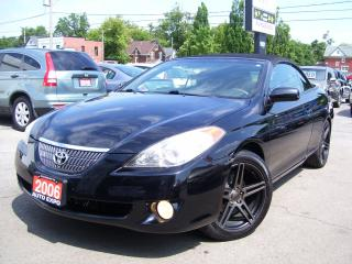 Used 2006 Toyota Camry Solara SLE,A/C,LEATHER,ALLOYS,FOG LIGHTS,CERTIFIED for sale in Kitchener, ON