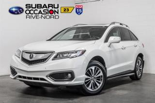 Used 2016 Acura RDX ADVANCE BLUETOOTH+CAM DE RECUL+NAV+CUIR+TOIT for sale in Boisbriand, QC
