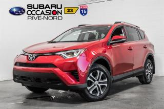 Used 2016 Toyota RAV4 LE BLUETOOTH+SIEGES.CHAUFFANTS+CAMERA.DE.RECUL for sale in Boisbriand, QC