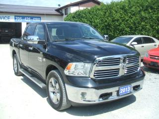 Used 2013 Dodge Ram 1500 Big Horn , 4X4 , Crew for sale in Beaverton, ON