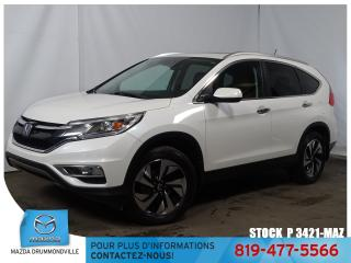 Used 2015 Honda CR-V Touring|AWD|CUIR|TOITOUV|GPS|SIEGCHAUF|MAG| for sale in Drummondville, QC