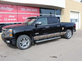 Used 2015 Chevrolet Silverado 1500 High Country / Sunroof / GPS Navigation / Back Up Camera for sale in Edmonton, AB