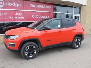 Used 2018 Jeep Compass Trailhawk / GPS Navigation / Back Up Camera for sale in Edmonton, AB