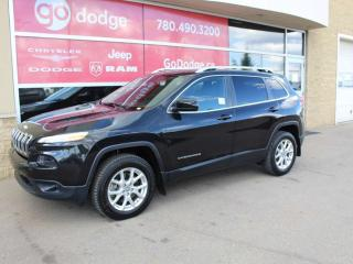Used 2016 Jeep Cherokee North / Full Sunroof / Heated Front Seats for sale in Edmonton, AB