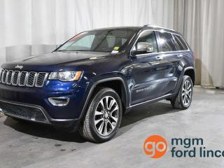 Used 2018 Jeep Grand Cherokee LIMITED 4X4 | HEATED FRONT SEATS | HEATED STEERING WHEEL | HEATED BACK SEATS | NAVIGATION | BACKUP CAMERA | MOONROOF for sale in Red Deer, AB