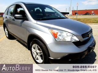 Used 2008 Honda CR-V LX - 4WD - 2.4L for sale in Woodbridge, ON