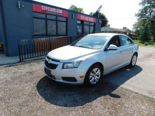 Used 2013 Chevrolet Cruze LT Turbo|BLUETOOTH|USB/AUX| for sale in St. Thomas, ON