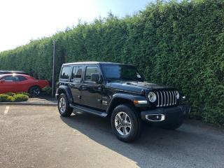 New 2020 Jeep Wrangler Unlimited SAHA for sale in Surrey, BC