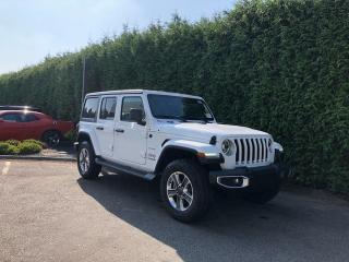 Used 2020 Jeep Wrangler Unlimited Sahara for sale in Surrey, BC