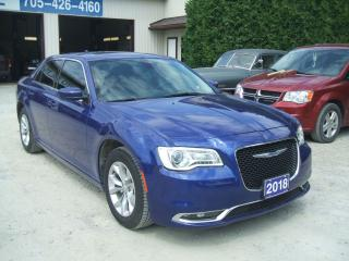 Used 2018 Chrysler 300 TOUR, Pano Roof, Nav. Leather for sale in Beaverton, ON