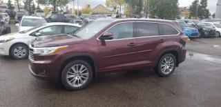 Used 2014 Toyota Highlander XLE; 7PASS, NAV, BACKUP CAM, LEATHER, SUNROOF, HEATED SEATS AND MORE for sale in Edmonton, AB