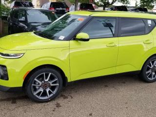 New 2020 Kia Soul EX PREM; ADVANCED SAFTEY, NAV, BLUETOOTH, BACKUP CAM, SUNROOF AND MORE for sale in Edmonton, AB