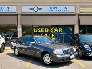 Used 1995 Mercedes-Benz S-Class 5.0L S500 ONLY 49,390 Kms for sale in Vaughan, ON