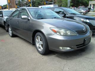 Used 2003 Toyota Camry 2.4L No Accident| AC blows cold| Alloys wheels for sale in Toronto, ON