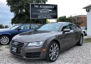 Used 2012 Audi A7 3.0 Premium Plus FULLY LOADED NAVI NO ACCIDENT for sale in Mississauga, ON