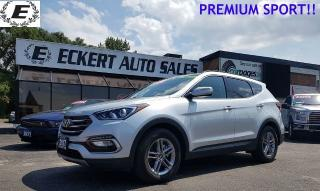 Used 2017 Hyundai Santa Fe Sport LIMITED WITH LEATHER/SUNROOF/AWD! for sale in Barrie, ON