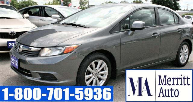 2012 Honda Civic EX /BLUETOOTH/NO ACCIDENTS/ONE OWNER/