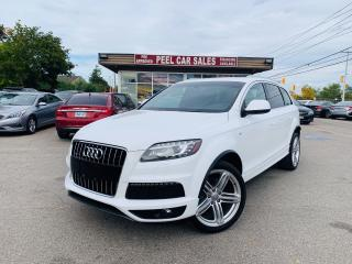 Used 2012 Audi Q7 3.0L|PREMIUM|REARVIEW|7PSNGR|LEATHER|PANOROOF! for sale in Mississauga, ON
