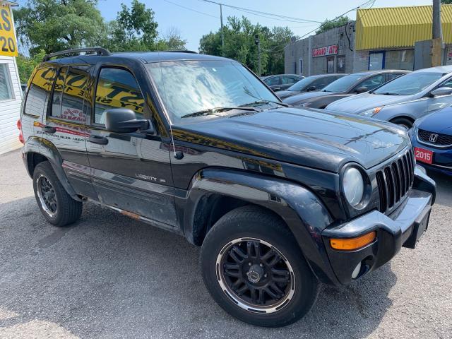 2003 Jeep Liberty AUTO/ 4X4/ POWER GROUP/ ALLOYS/ LOADED!