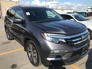 Used 2016 Honda Pilot Touring / Leather / Navi / DVD / Dual Sunroof for sale in Bradford, ON