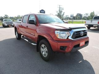 Used 2013 Toyota Tacoma SR5 Double cab. 4X4. Only 51000 km's for sale in Gorrie, ON