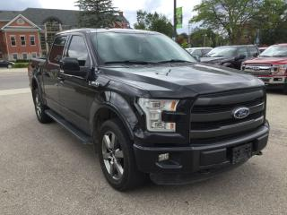 Used 2015 Ford F-150 Lariat | 4X4 | Accident Free | Moonroof for sale in Harriston, ON