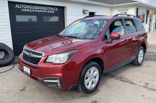 Used 2018 Subaru Forester Convience Package for sale in Kingston, ON