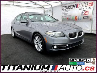 Used 2016 BMW 5 Series xDrive+Safety PKG+HUD+360 Camera+GPS+Park Sensors+ for sale in London, ON