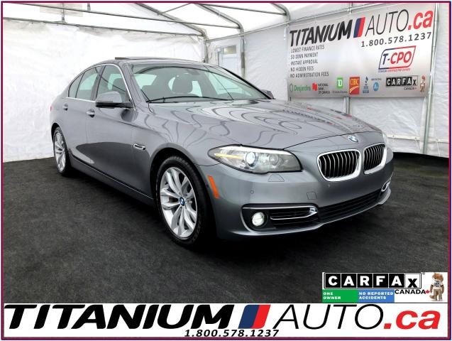 2016 BMW 5 Series xDrive+Safety PKG+HUD+360 Camera+GPS+Park Sensors+