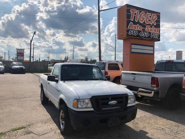 2008 Ford Ranger XL**SINGLE CAB**4 CYLINDER**SMALL TRUCK**AS IS