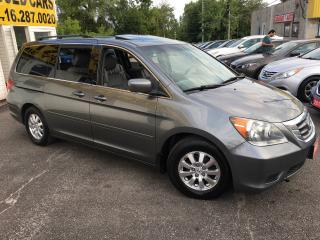 Used 2009 Honda Odyssey EX-L/ LEATHER/ SUNROOF/ REVERSE CAM/ POWER GROUP! for sale in Scarborough, ON