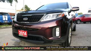 Used 2014 Kia Sorento EX|NO ACCIDENT|LEATHER|AWD|ALLOYS|PUSH START|BT for sale in Oakville, ON