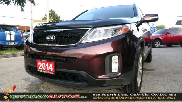 2014 Kia Sorento EX|NO ACCIDENT|LEATHER|AWD|ALLOYS|PUSH START|BT
