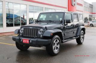 Used 2018 Jeep Wrangler JK Unlimited Sahara for sale in Fort St John, BC