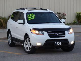 Used 2008 Hyundai Santa Fe LEATHER,AWD,FULLY LOADED,NO-ACCIDENTS,CERTIFIED for sale in Mississauga, ON