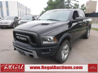 Used 2016 RAM 1500 Rebel Crew CAB SWB 4WD 5.7L for sale in Calgary, AB