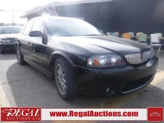 Used 2005 Lincoln LS 4D Sedan for sale in Calgary, AB