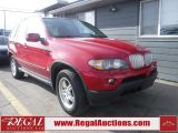 Photo of Red 2005 BMW X5