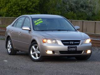 Used 2007 Hyundai Sonata LEATHER,LIMITED,CERTIFIED,FULLY LOADED,NO-ACCIDENT for sale in Mississauga, ON
