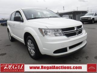 Used 2017 Dodge Journey 4D Utility for sale in Calgary, AB