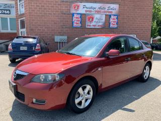 Used 2009 Mazda MAZDA3 SUMMER BLOWOUT $400 OFF/2L/ONE OWNER/NO RUST for sale in Cambridge, ON