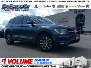 Used 2018 Volkswagen Tiguan COMFORTLINE | NAV | PANO | LEATHER | CAM!!! for sale in Milton, ON