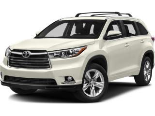 Used 2016 Toyota Highlander Limited FULLY LOADED  PANO ROOF  NAVI  JBL SOUND for sale in Ottawa, ON
