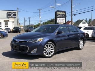 Used 2015 Toyota Avalon Limited FULLY LOADED!! LEATHER  ROOF  NAVI!! for sale in Ottawa, ON
