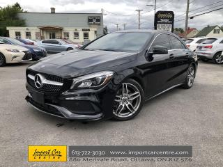 Used 2018 Mercedes-Benz CLA-Class SPORT&PREMIUM ARTICO PANO.ROOF NAV BLIS for sale in Ottawa, ON