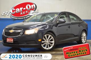 Used 2014 Chevrolet Cruze Diesel LEATHER SUNROOF REAR CAM HTD SEATS for sale in Ottawa, ON
