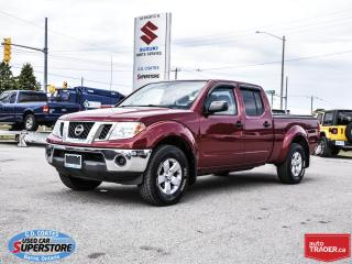 Used 2012 Nissan Frontier SV Crew Cab 4x4 ~4.0L V6 ~Trailer Tow Package for sale in Barrie, ON