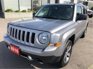 Used 2016 Jeep Patriot North 4x4 w/Leather, Sunroof, Navi, Bluetooth for sale in Hamilton, ON