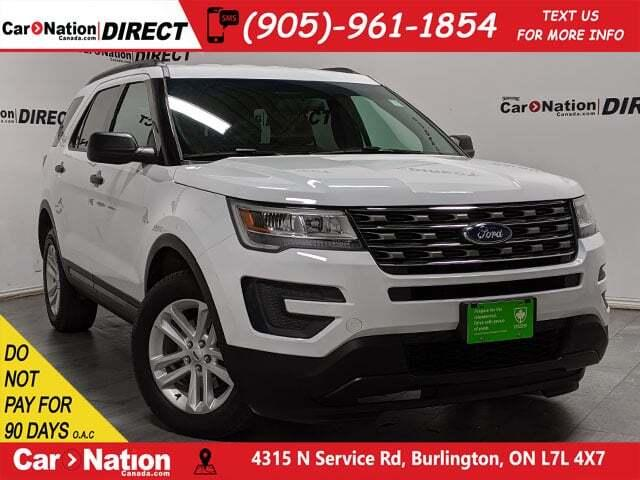 Used 2017 Ford Explorer | 4X4| BACK UP CAMERA| DUAL CLIMATE