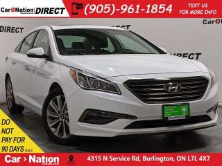 Used 2016 Hyundai Sonata GLS| LOCAL TRADE| SUNROOF| LEATHER| for sale in Burlington, ON